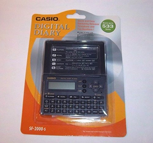 10d9549fb Casio SF-2000 Digital Diary- Stores up to 533 Items! - Buy Online in UAE. |  Watches Products in the UAE - See Prices, Reviews and Free Delivery in  Dubai, ...