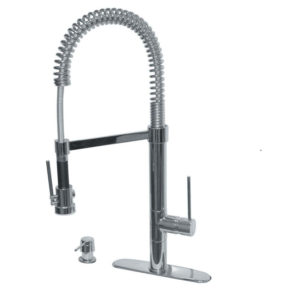 Pegasus 78PW557LFEX Marilyn Commercial Single-Handle Pull-Down ...