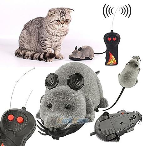 Amazon.com: Mando a distancia RC rata mouse inalámbrico para ...