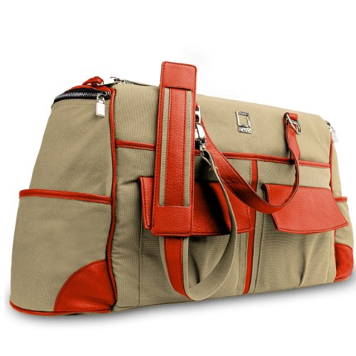 Lencca Alpaque Duffel Water-Resistant Luggage Laptop Bag For
