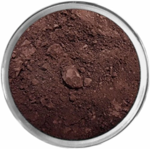 Coffee Loose Powder Mineral Matte Multi Use Eyes Face Color Makeup Bare Earth Pigment Minerals Make Up Cosmetics By MAD Minerals Cruelty Free - 10 Gram Sized Sifter - Coffee Brown Powder