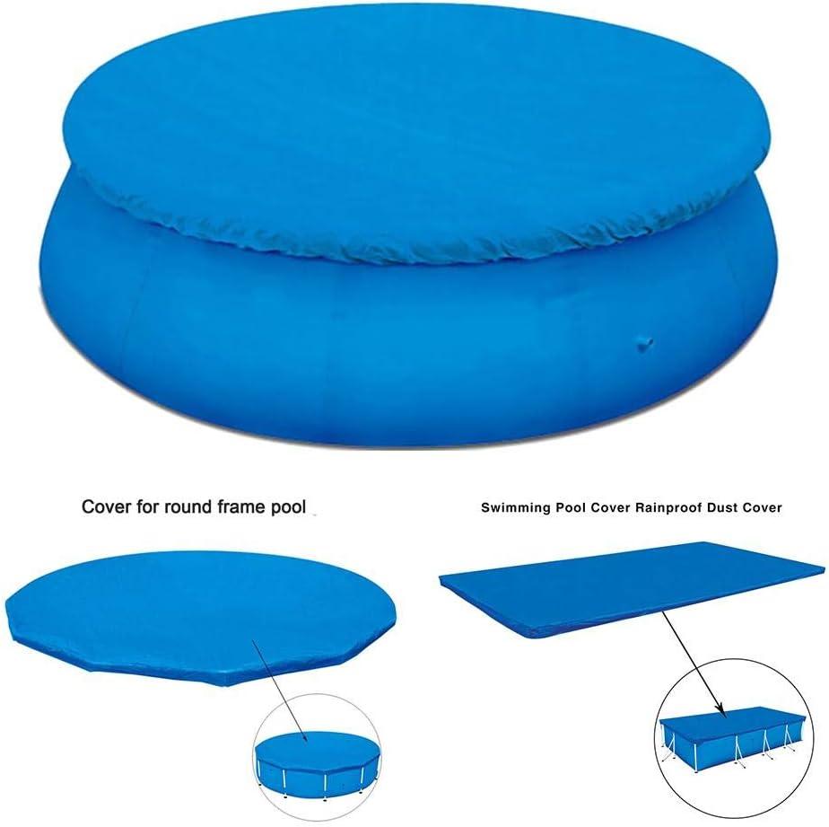 remote.S Cobertor Piscina Redonda A Prueba De Polvo Impermeable Funda De Piscina De PVC