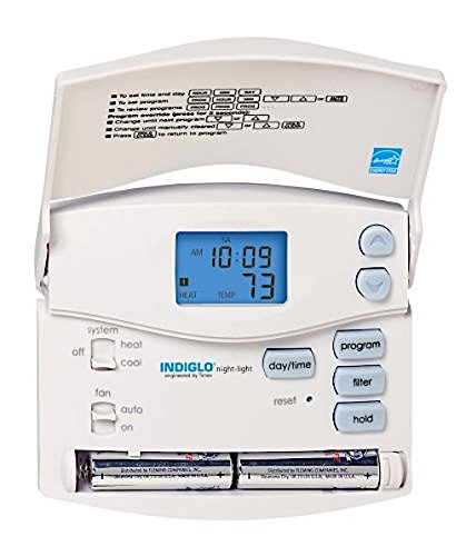 hunter 44360 set and save 7 day programmable thermostat rh amazon com Old Hunter Programmable Thermostat Hunter Thermostat Wiring Diagram