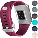 For Fitibt Ionic Bands, Replacement Sport Watch Accessories Band for Fit bit Ionic Smart Watch,Small,Fushia