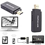 Dreamyth Dongle D2 DLNA Airplay Wireless WiFi HDMI HDTV Media Display Receiver Fits Phone Practica (Black)