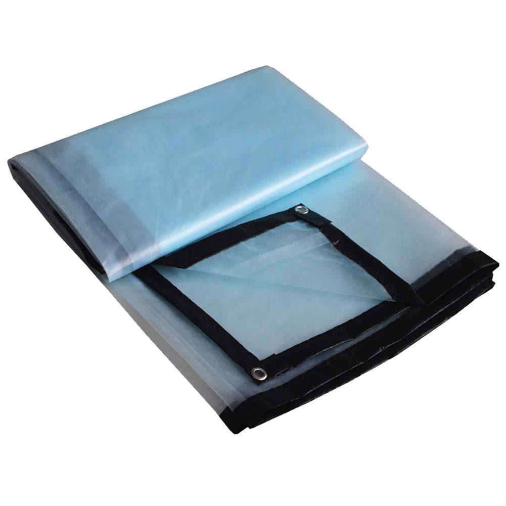 WZLDP Plastic Tuch Dicke transparente transparente transparente Kanten regendicht Kunststoff Tuch Fenster Balkon Blaume Isolierung Frostschutz Anti-Aging-Gewächshaus-Folie Anti-UV B07PF8WTH8 Zeltplanen Bestseller 1f8c5e