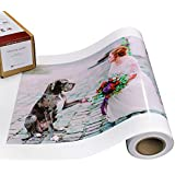 Vibrance Luster Photo Printer Paper 10 mil 255 gsm Luster Finish Premium Photo Paper Roll 10 inches x 100 feet Works with All Inkjet Printers Including Professional Makes and Models
