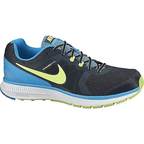 Nike The Overplay VIII - Zapatillas unisex Azul marino / Azul / Lima / Blanco