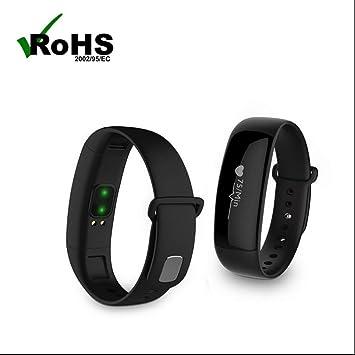Pulsera Inteligente con Pulsómetro Reloj de Pulsera Deportivo Reloj Inteligente Smartwatch Fitness Tracker Monitor de Sueño