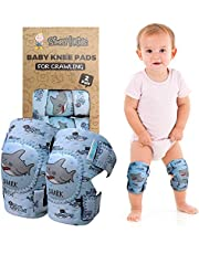 Simply Kids Baby Knee Pads for Crawling (2 Pairs) | Protector for Toddler, Infant, Girl, Boy