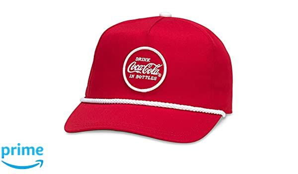 21e46fd2f000d American Needle Coca Cola Cappy Adjustable Snapback Hat - Red at Amazon  Men s Clothing store