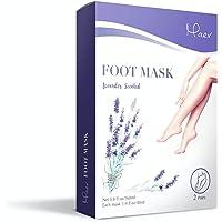 Exfoliating Foot Peel Mask 2 Pairs, Gently Peel Away Calluses and Dead Skins, Repair Rough Heels, Restore Soft and…