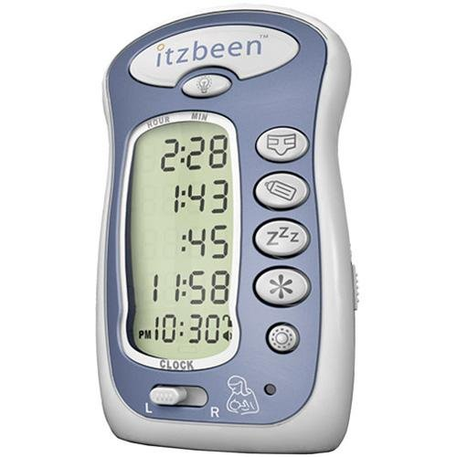 Itzbeen Baby Care Timer (Itzbeen Pocket Nanny Baby Care Timer Blue)