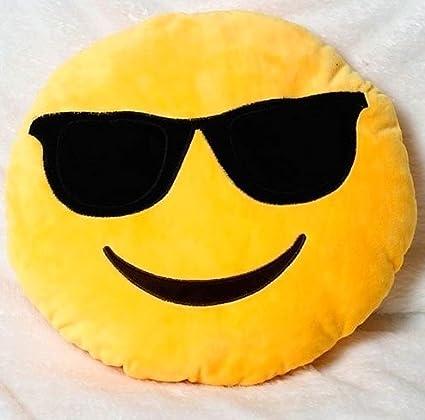 Tickles Whatsapp Sofa Smiley Emoticon Cushion Plush Stuffed Soft Plush Toy 33 cm