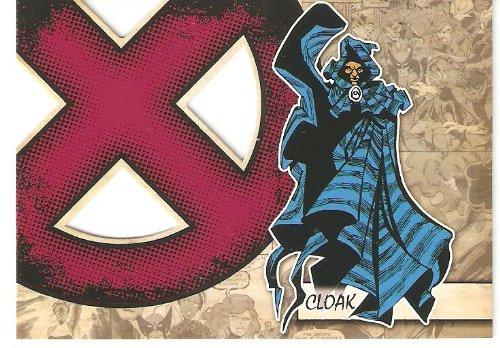 2011 Marvel Beginnings X-Men Die-Cut #X10 Cloak (Insert Card)(Non-Sport Comic Trading Cards)(Upper Deck - Series 1) from Marvel