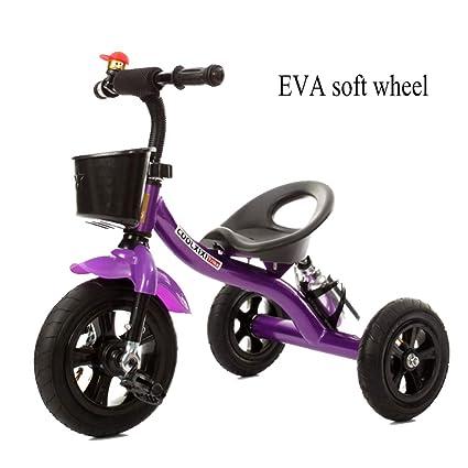 Amazon.com: GSDZSY - Bicicleta de triciclo para niños ...
