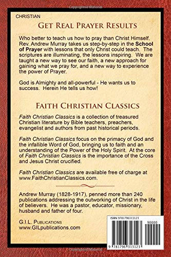 With Christ In the School of Prayer: Thoughts on Our