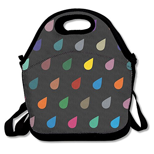Dots Raindrops Fashionable Insulated Thermos Polyester
