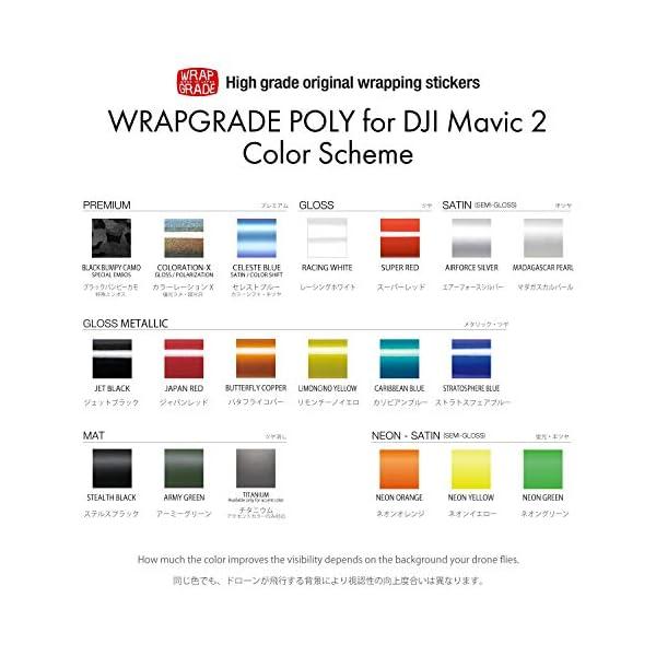 WRAPGRADE Skin Compatibile con DJI Mavic 2 unità Principale (Neon Yellow) 6 spesavip