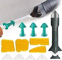 SAFETYON Silikonentferner Fugenwerkzeug Set 13 Stk, Silikon Abzieher Dichtungswerkzeugsatz Dichtmittelentferner Caulk...