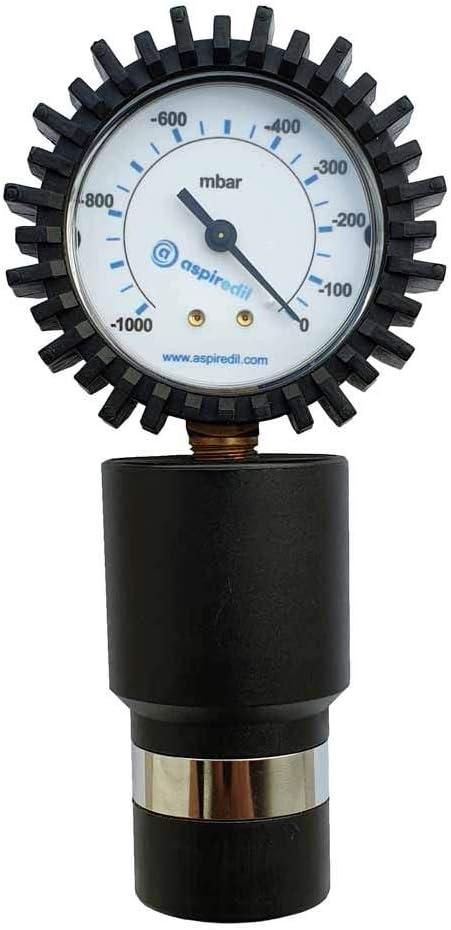 Vacuómetro Vacímetro Aspirador Centralizado Escala -0/1000 mbar ...
