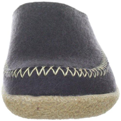 Haflinger 718001 Slippers, Filztofel Blizzard Credo, Asphalt, Gr 41 by Haflinger (Image #4)