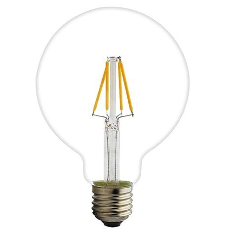 Lámparas Bombillas de Filamento LED edison e27 globo grande ...
