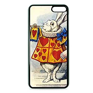 Case Fun Case Fun Alice in Wonderland White Rabbit Snap-on Hard Back Case Cover for Amazon Fire Phone