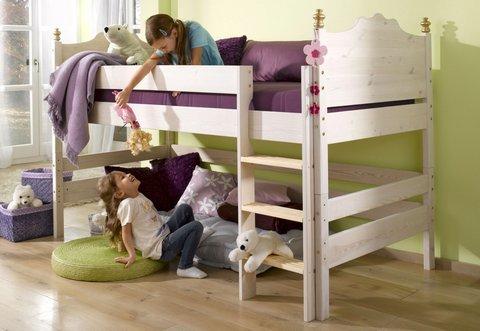 Etagenbett Holz Bio : Etagenbett holz hochbett treppe massivholz zu