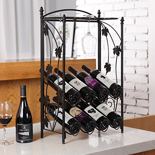 Freestanding Design Bottle Decorative Hanger