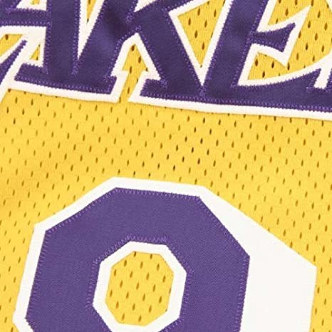 a1e4dc2ea Amazon.com   Mitchell   Ness Los Angeles Lakers  8 Kobe Bryant Gold  Authentic Throwback Basketball Jersey (56)   Sports   Outdoors