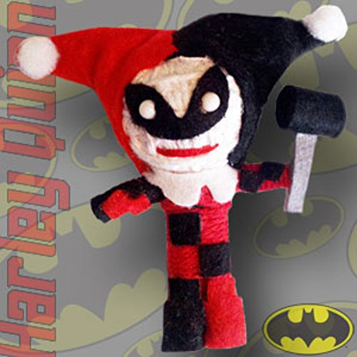 DC Comics Bombshells (Batman) Harley Quinn String Doll 2.5