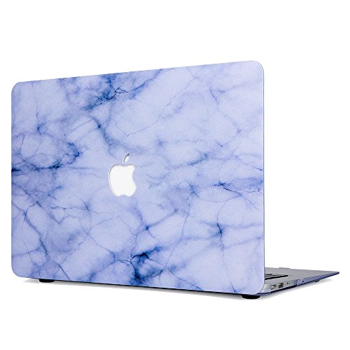 Onteck Apple Macbook 12'' inch Retina Hard Case Print Frosted - White Marble Design Rubber Coated Hard Shell Case Cover(Model:Macbook...