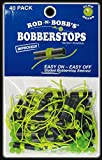 Rod-N-Bobb's Bobber Stops and Beads (Pack of 40), Chartreuse