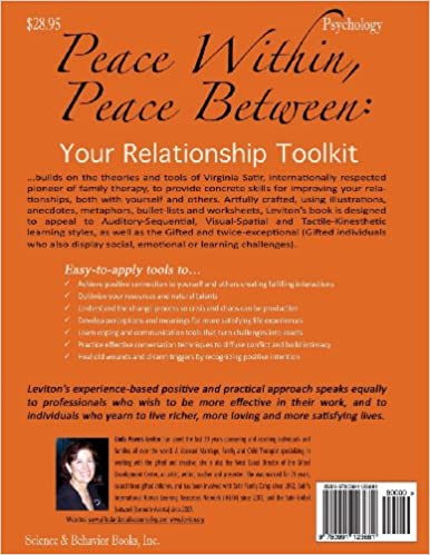 Peace Within, Peace Between: Your Relationship Toolkit: Linda ...