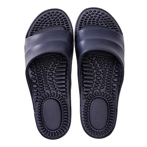 Amazon.com: Deerway Acupressure Massage Slippers Therapeutic Reflexology Sandals for Foot Acupoint Massage Shiatsu Arch Pain Relief Non-Slip Shoes Bath Shower: Shoes