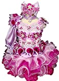 Jenniferwu Infant Toddler Baby Newborn Little Girl's Pageant Party Birthday Dress G016A Size 3T