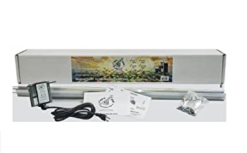best entry-level grow light mover system: LightRail 3.5 IntelliDrive kit