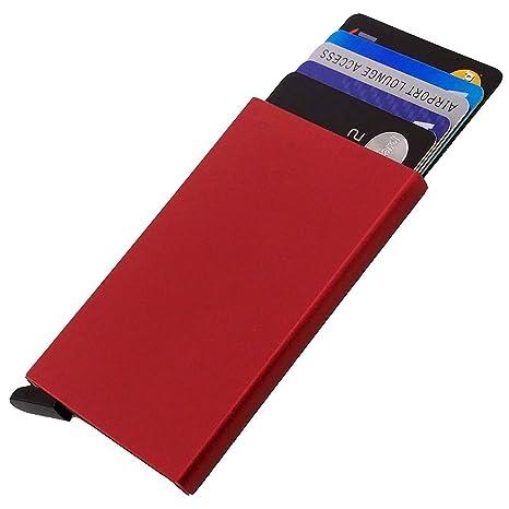 Amazon.com: DLIFE titular de la tarjeta de Crédito RFID ...