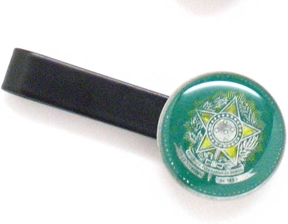 The Traveling Penny Brasil - Corbata de monedas con clip para ...