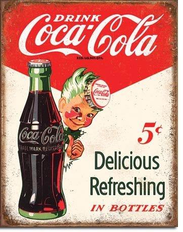 (New Coca Cola Coke Sprite Boy 5 Cents 16