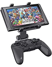 OIVO Switch Pro Controller Clip Mount for Nintendo Switch/Switch Lite, Adjustable Clip Clamp Holder Mount for Nintendo Switch Pro Controller