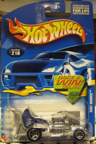 #680 Baby Boomer 5-spoke Wheels Collectible Collector Car Mattel Hot Wheels