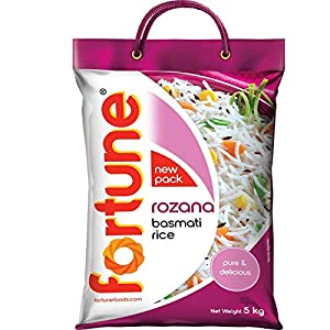 Fortune Rozana Basmati Rice, suitable for daily cooking, 5 kg