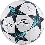 Lionel Messi Barcelona Autographed 2017-18 Champions League Soccer Ball - Fanatics.