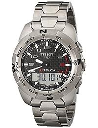 Tissot Men's T0134204420200 T Touch Expert Black Dial Watch