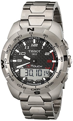 Tissot Men s T0134204420200 T-Touch Expert Titanium Watch