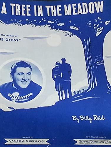 A TREE IN THE MEADOW BILLY REID 1947 SHEET MUSIC SHEET MUSIC 568 (Sale Il For Rockford Trees)