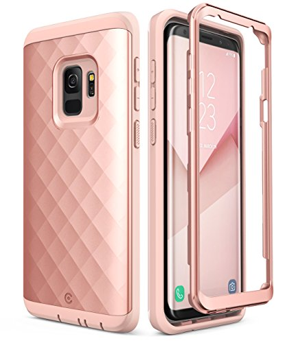 Samsung Galaxy S9 Case, Clayco [Hera Series] Full-body Rugged Case WITHOUT Screen...