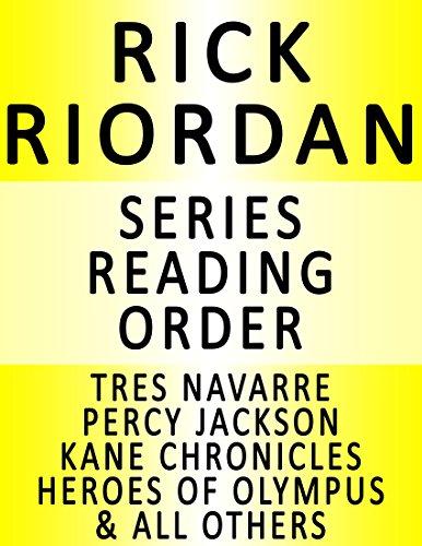 RICK RIORDAN — SERIES READING ORDER SERIES LIST